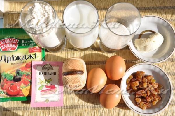 Кулич в хлебопечке Мулинекс, рецепт с фото