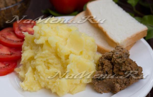 Печеночный паштет из куриной печени рецепт с фото