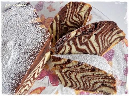 Торт Зебра: рецепт с фото пошагово в домашних условиях (видео)