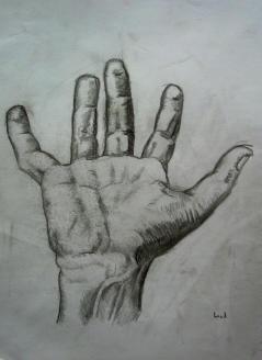 study of hand 2