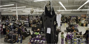halloween store name tags customer service