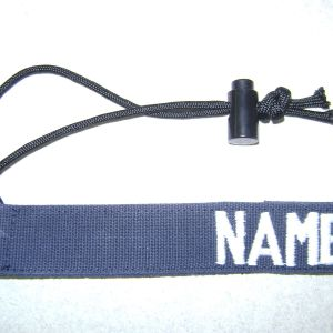 1 inch Luggage Tag with 550 Cord