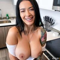 Day with a Pornstar: Katrina Jade's Kitchen Cock