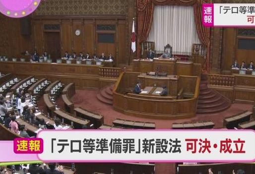 【動画あり】福島瑞穂らが牛歩戦術するも投票時間切れで無効票に・・