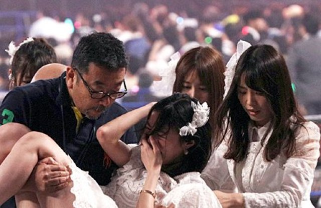 松井珠理奈が異変退場するもすぐに復帰【動画あり】