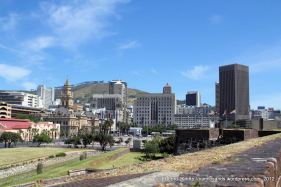 View of the cityscape - with the lovely old City Hall facing onto the Grand Parade