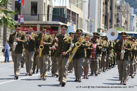 The SA Army Band Kroonstad