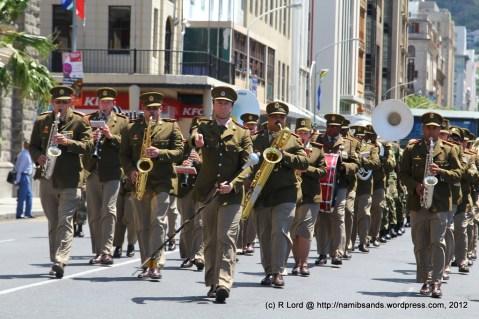 The SA Army Band Kroonstad