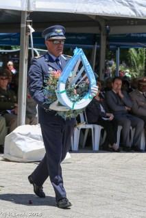 Colonel AJ de Castro of Air Force Base Ysterplaat