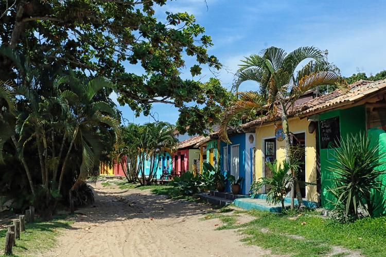 Casinhas em Caraíva