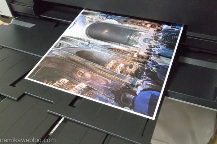 自宅のプリンターで作品を印刷