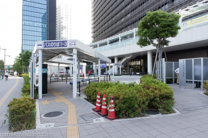 大崎駅西口バスターミナル・全景