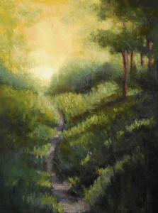 Morning Path, Carolyn Weins' Painting