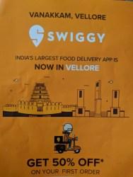 Swiggy Vellore
