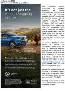 VW Commercial NAMPO Special Offers 2-1