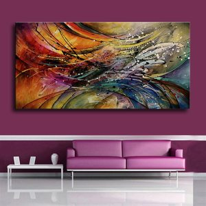 100 Hand Painted Modern Abstract Oil Paintings Home Wall