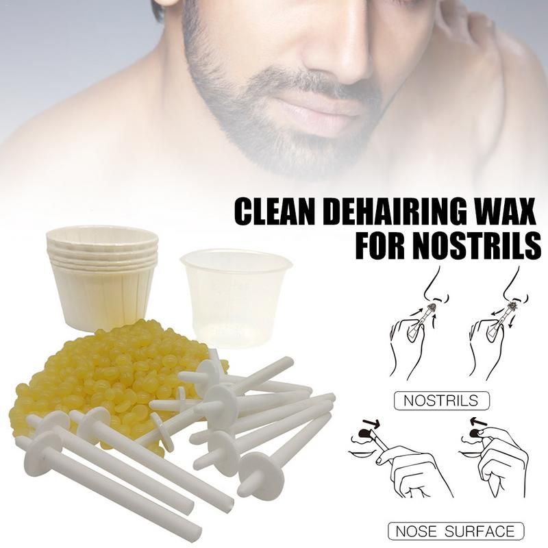 Portable Nose Hair Removal Wax Kit For Men And Women High Quality