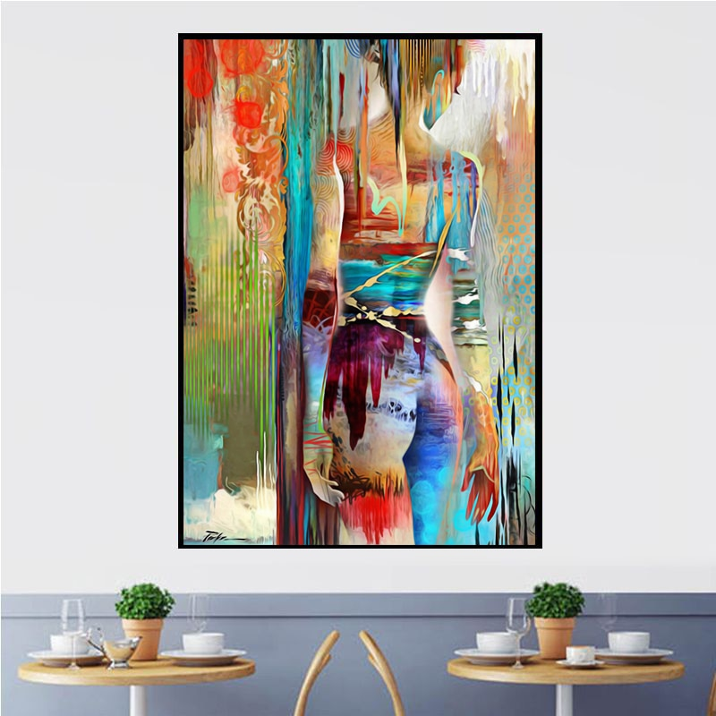 Woman Art Posters And Prints Wall Art Canvas Painting Sexy Body Nude Beauty Women Pictures For Living Room Home Decor No Frame Nana S Corner Beauty Cosmetic