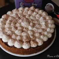 Banoffee pie  ( tarte spéculoos, caramel, banane, chocolat)