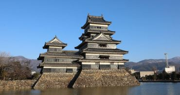 日本長野》國寶松本城(国宝松本城),日本最古老的國寶城