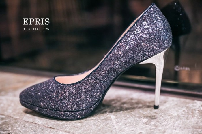 新娘婚鞋推薦》EPRIS艾佩絲婚鞋。我的夢幻婚鞋寶石星星,台灣製造耐穿不咬腳