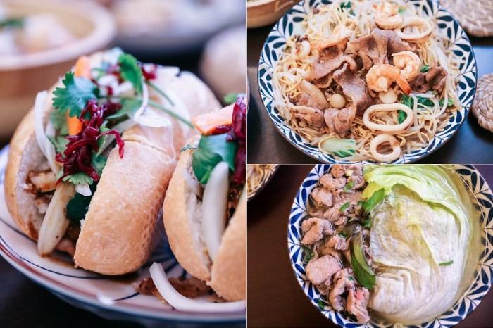 台中大里》越好吃越南料理(大里店)。河粉,滿漢拼盤,海陸炒麵,俗擱大碗經典越南菜