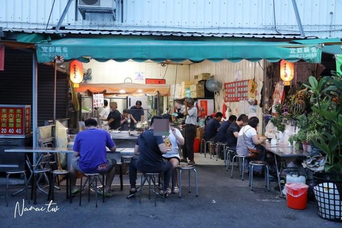 員林 無名炳哥燒肉飯。華成市場銅板宵夜美食~員林人愛吃燒肉飯?