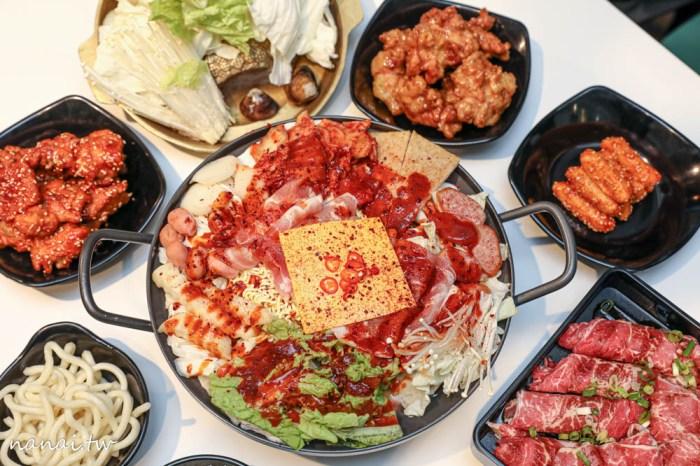最親鍋物。台中南區韓式鍋物,不到用餐時間爆客滿,CP值爆表平價鍋140元起