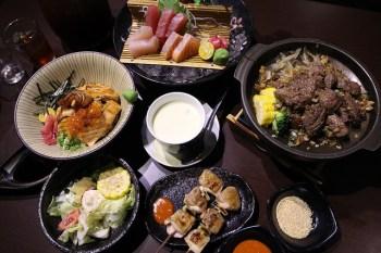 【南投草屯餐廳】大間町丼和食屋(草屯店)。平價美味的日式料理.180元就能吃到鮭魚親子丼飯.小菜+白飯通通免費吃到飽。