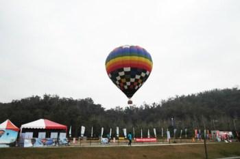 【南投】絕美景色!座熱氣球高空俯瞰日月潭美景❤向山遊客中心