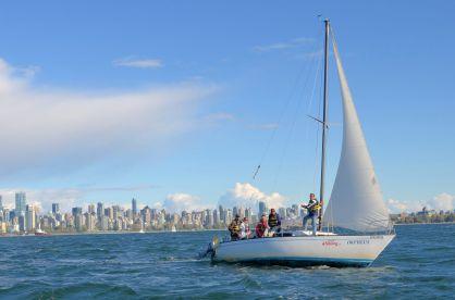 Sailing Teamwork