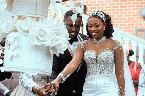 KENCY2020: The white wedding of Mr. and Mrs. Osei Asante. 13