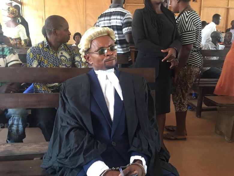 A fake lawyer arrested in Techiman 13