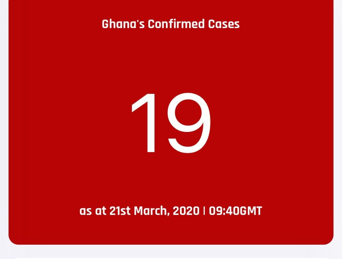 Updates: Covid-19 cases recorded in Ghana 16