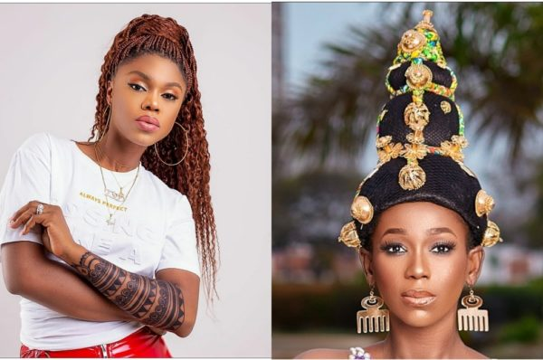 Ama K. Abebrese [Actress/Movie Director] and Becca [Musician]