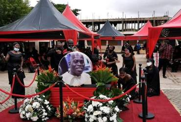 Photos from Nana Agyei Sikapa's burial service