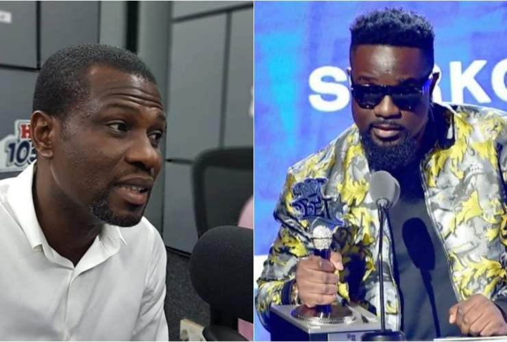 Sarkodie dashes Mark Okraku Mantey 500 Pounds [Watch viddo]