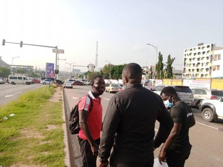 This is how John Dumelo is campaigning to win power ~ [see photos]