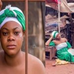The shocking way a Nigerian lady celebrated independence day has got people talking online [Photos]