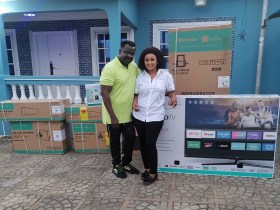 McBrown donates home appliances to Koo Fori