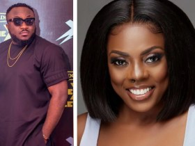 Multiple award-winning Ghanaian journalist and acting manager of GhOne TV, Nana Aba Anamoah has blasted hypocritical Ghanaian comedian, DKB over a silly joke he decided to make about her forehead.