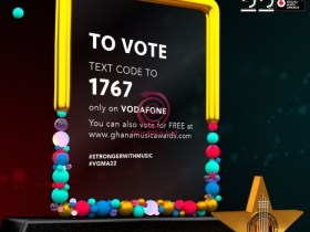 Voting for Vodafone Ghana Music Awards 2021 commences – Here's how you can vote for your favourite nominee