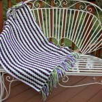 Grapevine Crochet Lap Afghan Free Pattern with Fringe Video Tutorial