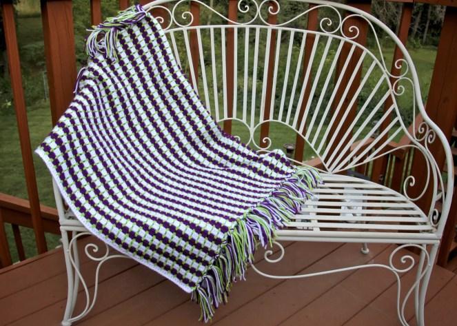 Grapevine Crochet Lap Afghan Free Pattern