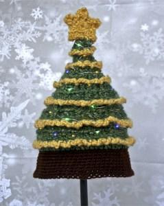 Christmas Tree Crochet Hat Pattern