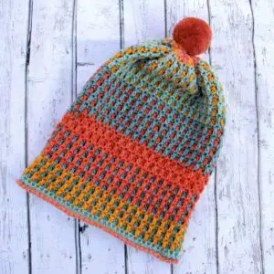 Just Peachy Crochet Hat Pattern. The Caron Cupcakes ... 0a7040983a5
