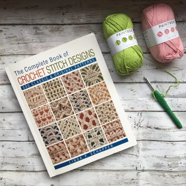 Book Review of The Complete Book of Crochet Stitch Designs #crochet #crochetstitch #bookreview