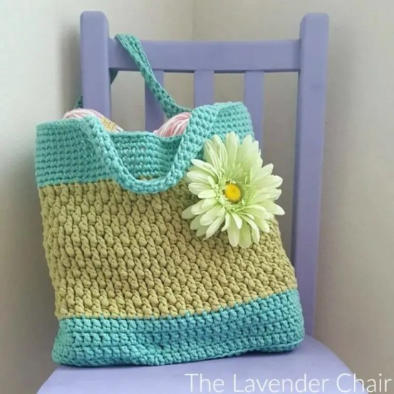 Brickwork Beach Bag by The Lavender Chair