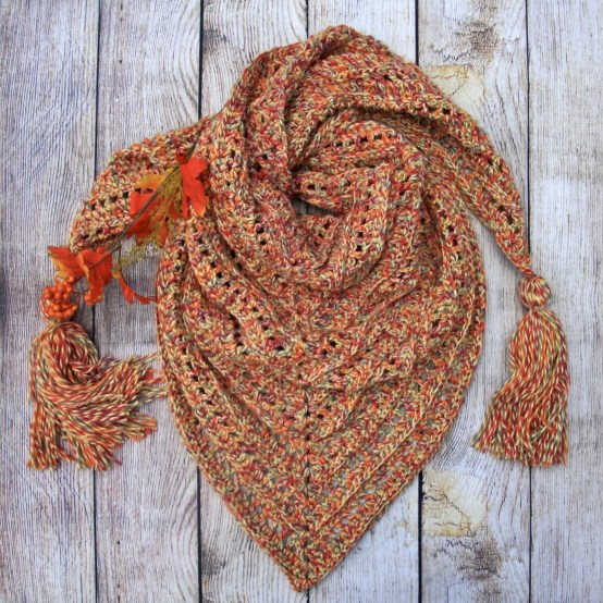 So Long Summer Scarf free crochet pattern video tutorial