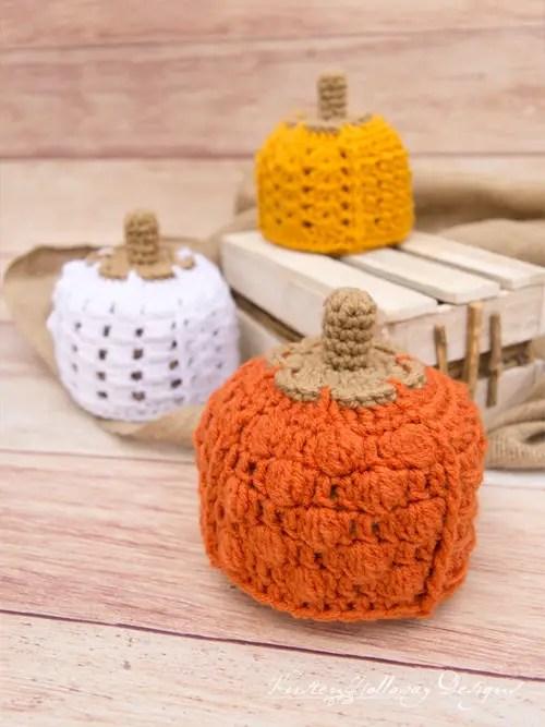 Patchwork Pumpkin Hat by Kirsten Holloway Designs